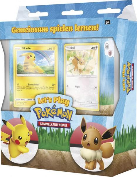 Let's Play Pokemon Pickachu + Evoli Themendeck- ENGLISCH