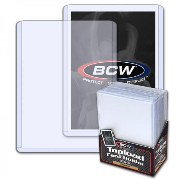 BCW Standard Toploader 3x4 ( 25 Stück)
