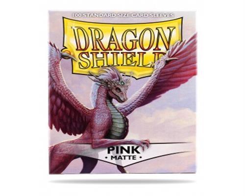 Dragon Shield Standard Sleeves - Matte Pink(100)