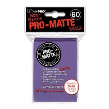 Ultra Pro Hüllen Lila Matt (60) Japan Size