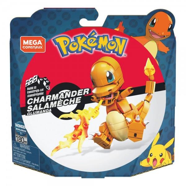 Pokémon Mega Construx Bauset Glumanda 10 cm