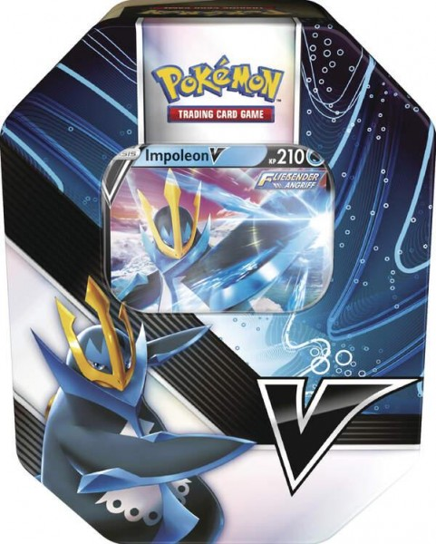Pokemon Impoleon V Tin Box - Englisch