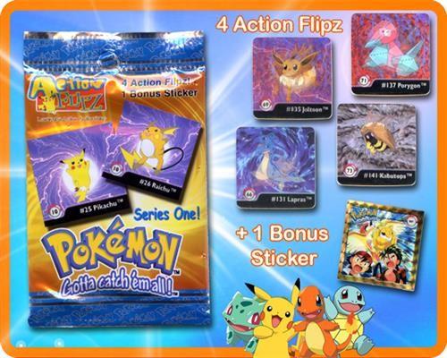 Pokemon Action Flipz Booster
