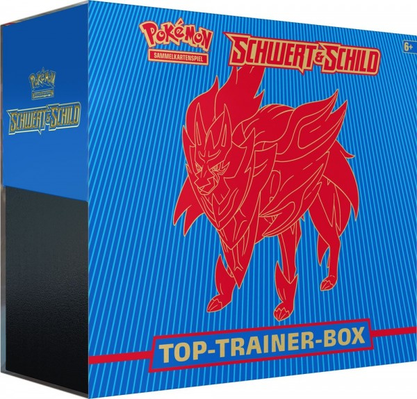 Pokémon Schwert und Schild Top-Trainer-Box -Deutsch