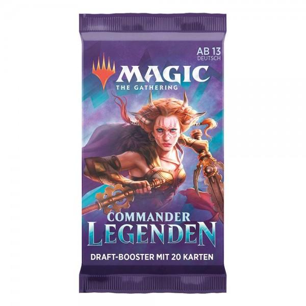Commander Legends Booster - Deutsch