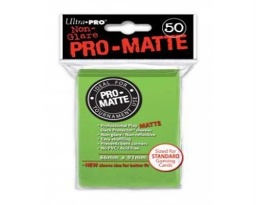 Ultra Pro Kartenhüllen - Standardgröße reflexionsfrei (50) - Lime Green