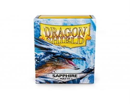 Dragon Shield Standard Sleeves - Matte Sapphire(100)