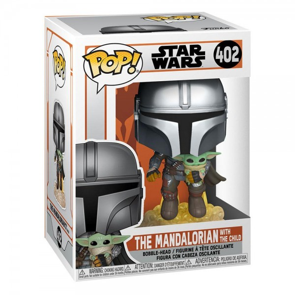 Star Wars 402- The Mandalorian with the Child- Funko POP!