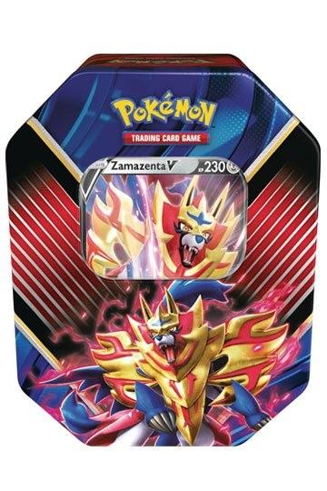 Pokémon Tin Zamazenta V -Deutsch