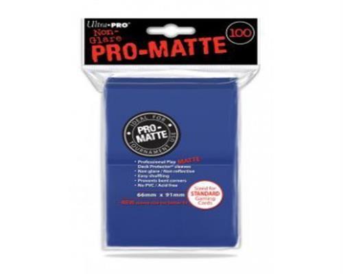 Ultra Pro Kartenhüllen - Standardgröße reflexionsfrei (100) - Blau