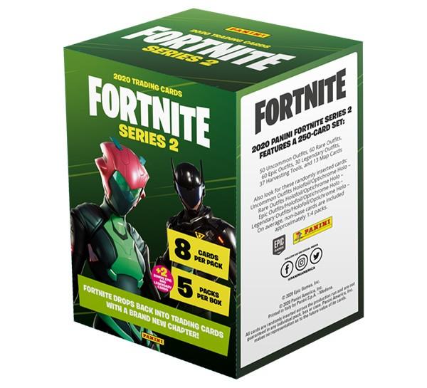 Panini Fortnite Serie 2 Blaster Box