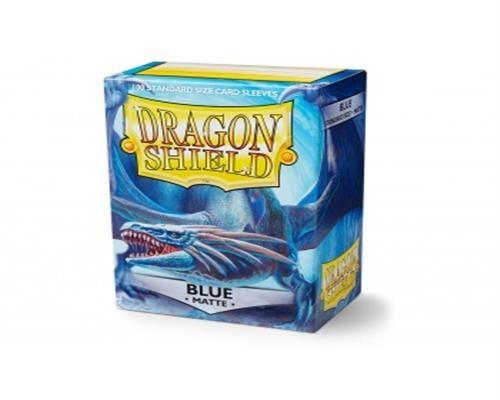 Dragon Shield Standard Sleeves - Matte Blau(100)