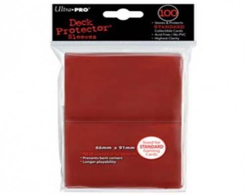 Ultra Pro Kartenhüllen - Standardgröße (100) -Rot