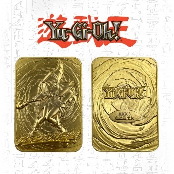 Limited Edition 24K Gold Metal Dark Magician Girl