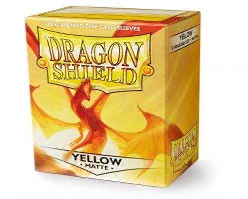 Dragon Shield Standard Sleeves - Matte Gelb (100)