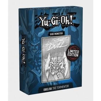 Limited Edition Metal Götter Karte Obelisk der Peiniger