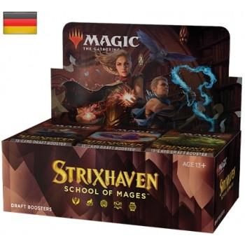 Strixhaven: Akademie der Magier -Draft Display -Englisch