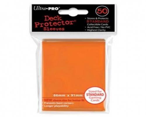 Ultra Pro Kartenhüllen - Standardgröße (50) -Orange