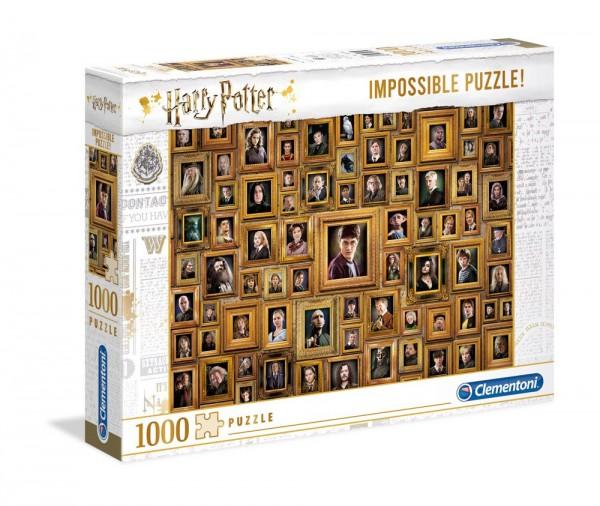 Harry Potter Impossible Puzzle Portraits 1000 Teile - Clementoni