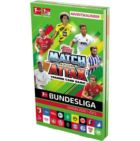 Match Attax 2020/2021 Adventskalender