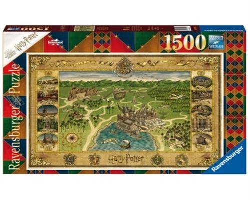 Ravensburger Puzzle - AT: Hogwarts Karte 1500 Teile