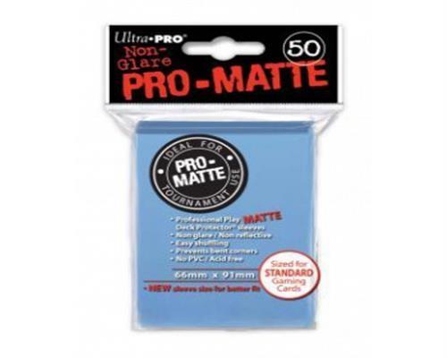 Ultra Pro Kartenhüllen - Standardgröße reflexionsfrei (50) - Light Blue