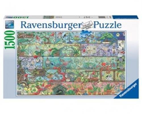 Ravensburger Puzzle - Zwerge im Regal 1500Teile