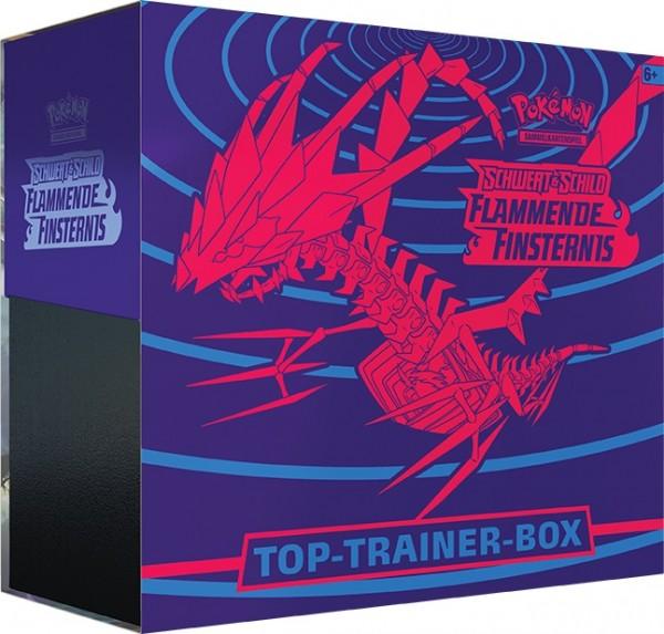 Schwert und Schild Flammende Finsternis-Top Trainer Box- Deutsch