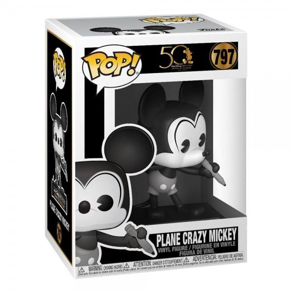 Disney 797- 50th Plane Crazy Mickey - Funko POP!