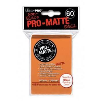 3 x Ultra Pro Hüllen Orange Matt (60) Japan Size