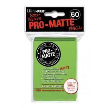 x Ultra Pro Hüllen Lime Green Matt (60) Japan Size
