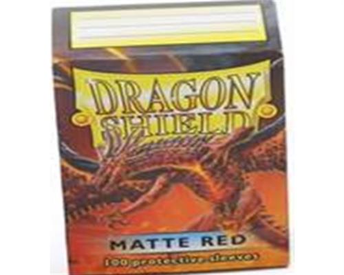 Dragon Shield Standard Sleeves - Matte Rot(100)