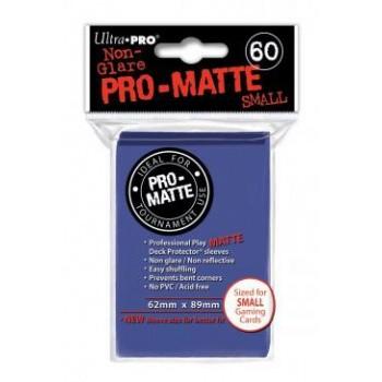 Ultra Pro Hüllen Blau Matt (60) Japan Size