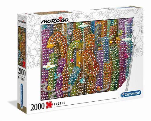 Clementoni Mordillo Puzzle Der Dschungel 2000 Teile