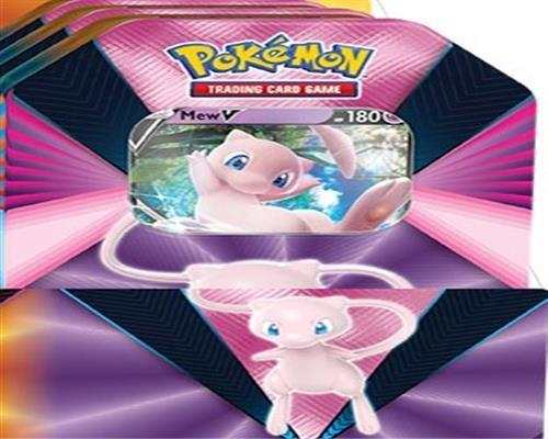 Pokemon Mew V Tin Box - Englisch