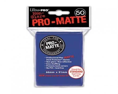 Ultra Pro Kartenhüllen - Standardgröße reflexionsfrei (50) - Blau