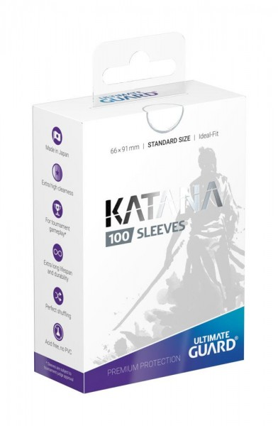 Katana Sleeves Standardgröße Weiß(100)
